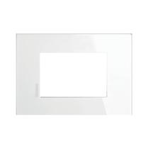 Placca 3 moduli BTicino Axolute Air bianco