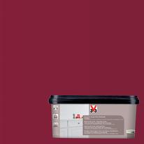 Smalto Multimateriale V33 rosso laccato satinato 2 L
