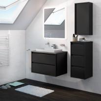 Mobile bagno Loto grigio antracite L 75 cm