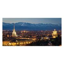 Fotomurale Torino piazza San Carlo 210 x 100 cm