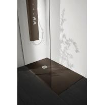 Piatto doccia resina Liso 140 x 90 cm cacao