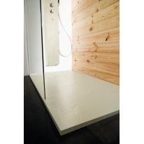 Piatto doccia resina Pizarra 130 x 80 cm grigio perla