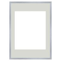 Cornice Lario con passe-partout rovere 50 x 70 cm