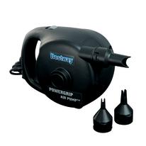 Pompa Sidewinder ergonomica elettrica 220v, gonfia/sgonfia, 3 adattatori per valvola