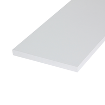 Pannello melaminico bianco 18 x 600 x 1000 mm