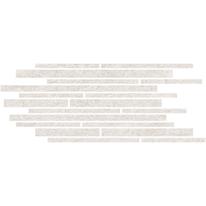 Piastrella con decoro Discovery bianco 30 x 60 cm