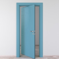 Porta da interno rototraslante The Thing avio 80 x H 210 cm sx