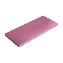 Mensola Spaceo rosa L 76 x P 20, sp 1,8 cm