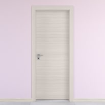 Porta da interno battente Oxford 70 x H 210 cm reversibile