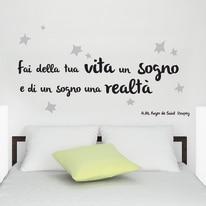 Sticker Words Up M Sogno e realtà