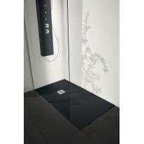 Piatto doccia resina Liso 150 x 70 cm antracite