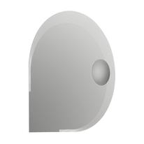 Specchio retroilluminato Specchio led con ingranditore 90 x 90 cm
