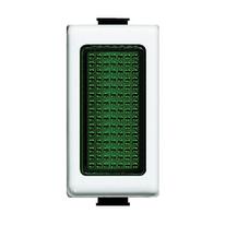 Copritasto con diffusore illuminabile BTicino verde