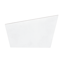 Applique Shine bianco L 24,2 x H 11,8 cm