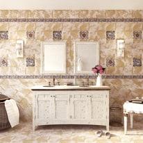 Piastrella Provence 20 x 20 cm bianco