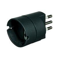 Adattatore S3623GE semplice 10A, BTicino nero