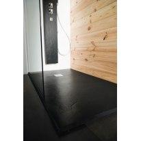 Piatto doccia resina Pizarra 180 x 80 cm nero