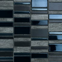 Mosaico Summer 30 x 30 cm nero, antracite