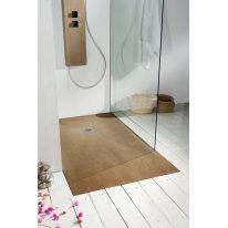 Piatto doccia resina Forest 140 x 70 cm cedro