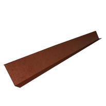 Scossalina in alluminio color rame 16 x 6 cm, L 200 cm