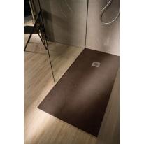 Piatto doccia resina Elements 140 x 80 cm terracotta