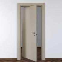 Porta da interno rototraslante Cinder grigio 70 x H 210 cm sx