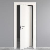 Porta da interno rototraslante Moma bianco 80 x H 210 cm dx