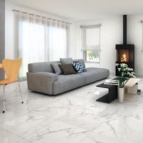 Piastrella Casablanca 60 x 60 cm bianco