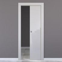Porta da interno scorrevole Massaua silk 70 x H 210 cm reversibile