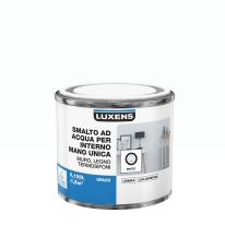 Smalto manounica Luxens all'acqua Bianco opaco 0.125 L
