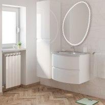 Mobile bagno Vague bianco L 69 cm