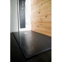 Piatto doccia resina Pizarra 70 x 70 cm antracite