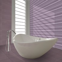 Piastrella Kolor 30 x 60 cm viola