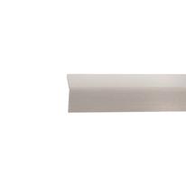 Paraspigolo PVC liscio grigio chiaro 2,5 x 24 x 3000 mm