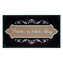 Zerbino Nice day marrone 40 x 70 cm
