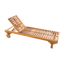 Lettino Sun Lounger marrone