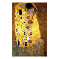 quadro su tela Bacio di  Klimt 95x145