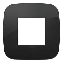 Placca 2 moduli Vimar Arké nero