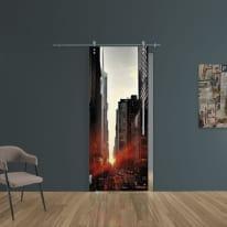 Porta da interno scorrevole Urban/binario Lux 88 x H 215 cm sx