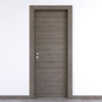 Porta da interno battente Starwood pietra 60 x H 210 cm reversibile