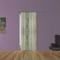 Porta da interno scorrevole Dogato/binario Lux 88 x H 215 cm dx