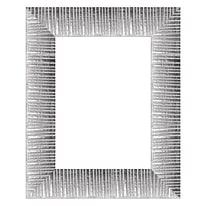 Cornice Soho argento 18 x 24 cm
