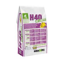 Colla in polvere Kerakoll H40 No Limits C2 bianco 5 kg