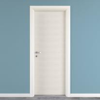 Porta da interno battente Touch bianco matrix 90 x H 210 cm reversibile