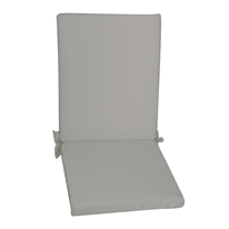 Cuscino schienale basso ecru 89 x 40 cm