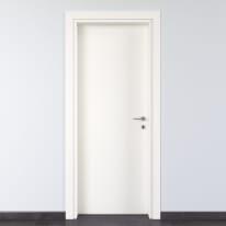Porta per bed & breakfast battente Glasgow bianco 70 x H 210 cm sx
