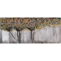 quadro dipinto a mano Alberi 65x150