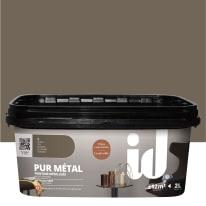 Pittura ad effetto decorativo Pur Metal Stagno 2 L