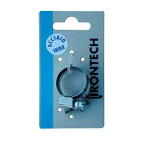 2 fascette stringitubo 15-24 mm in acciaio inox