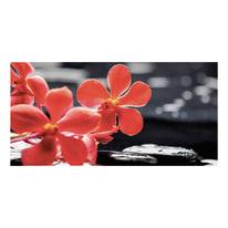 quadro su tela Red flower 80x180